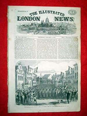 The Illustrated London News with a Supplement. No. 1240, 9 January 1864, Includes the Schleswig - ...