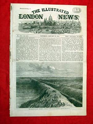 The Illustrated London News with a Supplement. No. 1242 23 January 1864. Includes Schleswig - ...