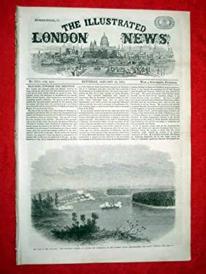 The Illustrated London News with a Supplement. No. 1243 30 January 1864. Includes the War in New ...