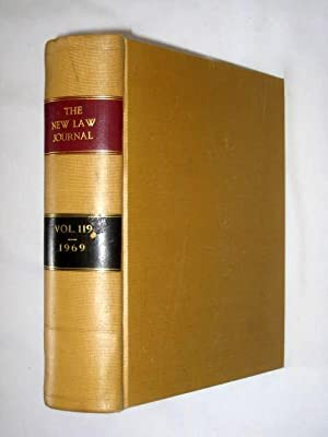 The New Law Journal, Volume 119. January 1969 to December 1969. Includes The Practitioner - a ...