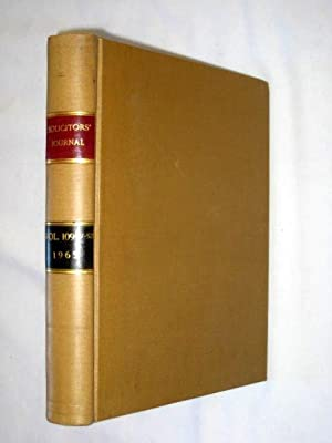 The Solicitors' Journal., Volume 109 pt2. July to December 1965.: The Solicitors' Journal.