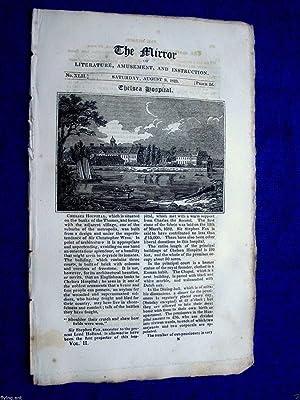 The Mirror of Literature.Amusement and Instruction.1823 No: J. Limbird
