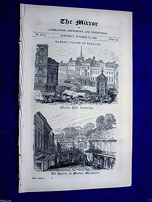The Mirror of Literature.Amusement and Instruction.1839 No: J. Limbird