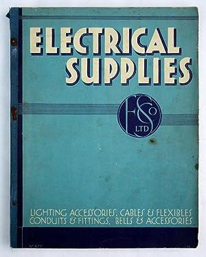 Electrical Supplies. Lighting Accessories, Cablr & Flexibles,: Falk, Stadelmann &