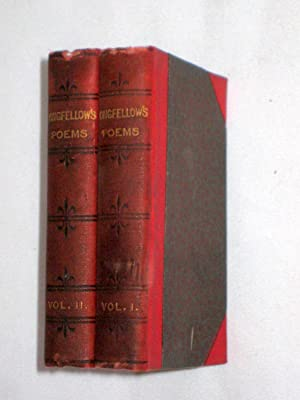 Poems of Longfellow Selected from the Best Editions. Complete Two Volume Set. Cassell's ...