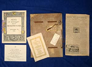 Souvenir of Banquet Held at the Fleetway: Northcliffe, Lord
