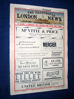 The Illustrated London News, 28 April 1962, Princess Anne, Colour Section on Marlik Iran Gold ...