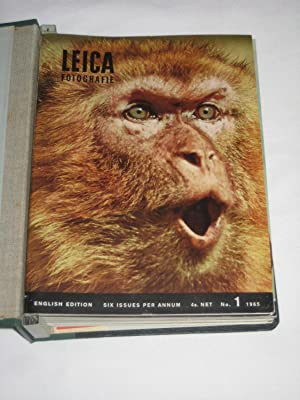 Leica Fotografie No. 1,2,3,4,5,6 of 1965. & No. 1,2,3,4,5,6 of 1966 English Edition. All 12 ...