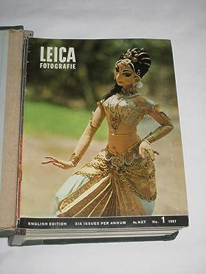 Leica Fotografie No. 1,2,3,4,5,6 of 1967. & No. 1,2,3,4,5,6 of 1968 English Edition. All 12 ...