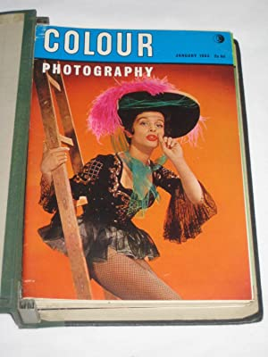 Colour Photography. All 12 Issues of 1963. All 12 Editions in an Easibind Folder.