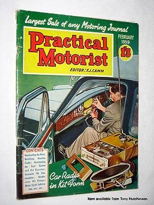 PRACTICAL MOTORIST Monthly Magazine. February 1959. (the: Camm, F. J.