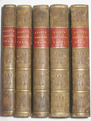 A NEW and COMPLETE HISTORY of THE COUNTY of YORK, illustrated by a series of views engraved on ...