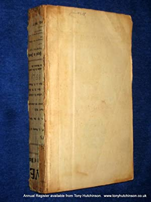 The Annual Register or A View of The History, Politicks And Literature For The Year 1758. (or ...