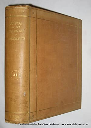 Journal of The Royal Institute of British Architects. November 1933 to October 1934.: The Royal ...
