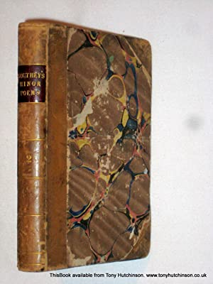 The Minor Poems of Robert Southey in Three Volumes, Vol II Only.: Southey, Robert.
