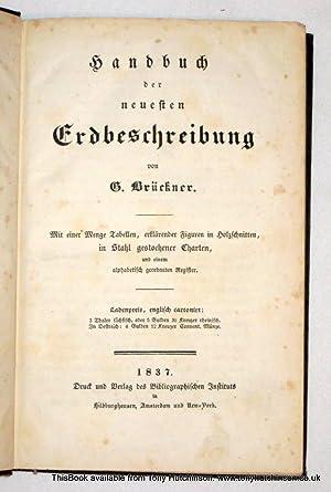 Handbuch Der Neuesten Erdbeschreibung.: Bruckner, G.