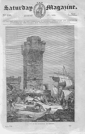 The Saturday Magazine No 198, RHODES, Greece. + The Alderney Cow, The Chigga, 1835: John William ...