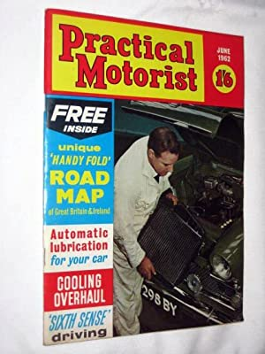 PRACTICAL MOTORIST Monthly Magazine. June 1962. ( Ford Anglia Estate Test, Renault Dauphine ...
