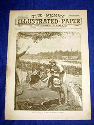 The Penny Illustrated Paper and Illustrated Times. No 1519 of 12 July 1890. The HENLEY REGATTA, ...