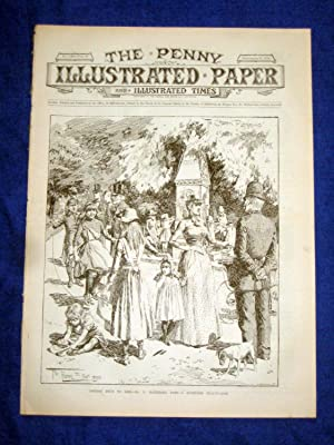 The Penny Illustrated Paper and Illustrated Times. No 1530 of 27 Sept 1890. BATTERSEA PARK, London....