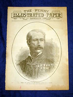 The Penny Illustrated Paper and Illustrated Times. No 1531 of 4 Oct 1890. GENERAL LORD WOLSELEY, ...