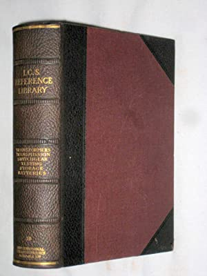 I.C.S. Reference Library. No.19.Transformers, Rectifiers,Converters, Electric Transmission, ...
