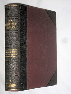 I.C.S. Reference Library. No.20. Incandescent Lighting, Arc Lighting, Electric Signs, Electric ...