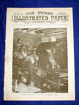 The Penny Illustrated Paper and Illustrated Times. No 1525 of 23 Aug 1890. British Naval Manoeuvres...