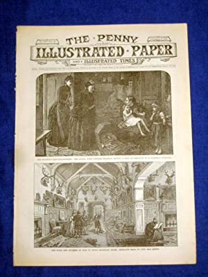 The Penny Illustrated Paper and Illustrated Times. No 1539 of 6 Sept 1890. QUEEN & PRINCESS ...