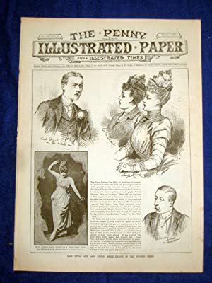The Penny Illustrated Paper and Illustrated Times. No 1522 of 2 Aug 1890. Lord & Lady DUNLO ...