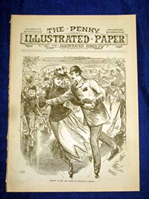 The Penny Illustrated Paper and Illustrated Times. No 1543 of 27 Dec 1890. Skating on Long Water ...