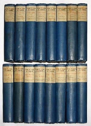 Beaux & Belles of England. LAURENCE STERNE - Vols I & II. Edition De Luxe.: Fitzgerald, ...