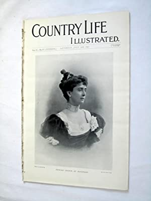 Country Life. No. 27 10th July 1897. Princess Francis De Hatzfeldt. Cawdor Castle, Queen's ...
