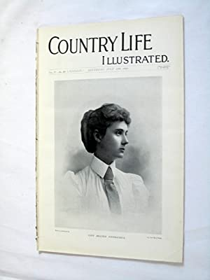 Country Life. No. 28. 17 July 1897. Lasy Beatrix Fitmaurice, St Michael's Mount, Yachting - ...