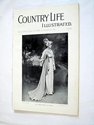 Country Life. No. 38. 25th September 1897. The Marchioness of Granby, Raby Castle, Wisley Gardens, ...