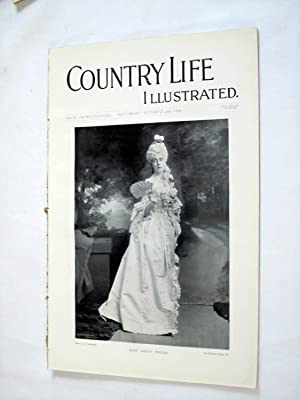 Country Life. No. 39. 2nd October 1897. Lady Sarah Wilson, Groombridge Place, Kent. Leonardslee ...