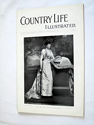 Country Life. No. 44. 6th November 1897.: Country Life