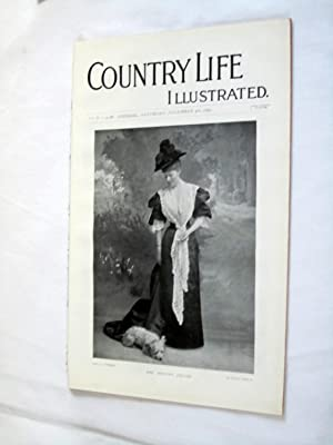 Country Life. No. 48. 4th December 1897. Mrs Houston French. Hengrave Hall, Uppingham School ...