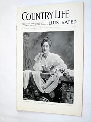 Country Life. No. 50. 18th December 1897. The Hon Kathleen De Montmorency, Claremont, Surrey, ...