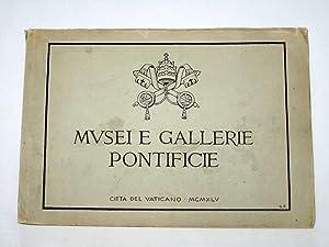 Musei e Gallerie Pontificie - Citta Del Vaticano. Mvsei E Gallerie Pontificie.