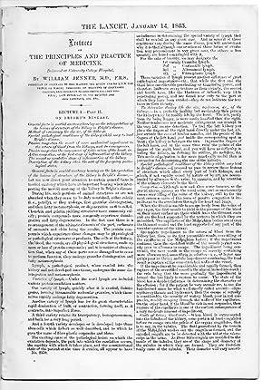The Lancet. 14 Jan 1865. PRINCIPLE & PRACTICE of MEDICINE - BRIGHT'S DISEASE, Pt 2, ...