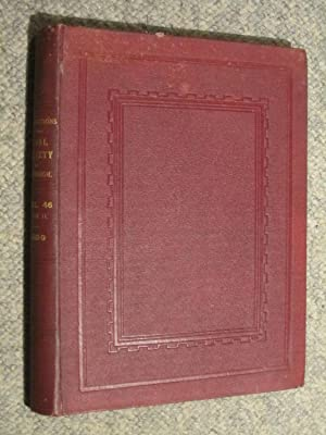 Transactions of The Royal Society of Edinburgh Volume XLVI PART II Session 1908 - 9. Containing 11 ...