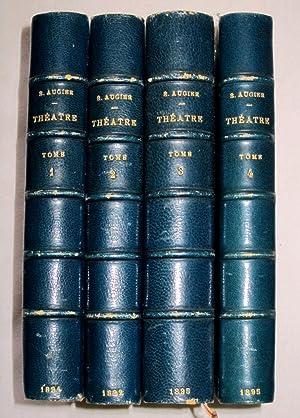 Theatre Complet de Emile Augier. Tome 1,2,3,4.: Augier, Emile.