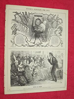 PUNCH Almanack for 1872. ( London Charivari: Punch.