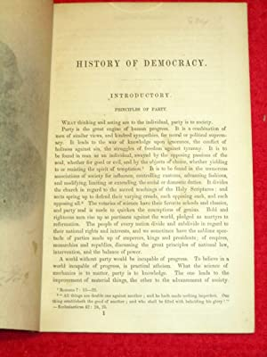 History of Democracy.