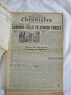 Jerusalem Chronicles News of the Past Volume Two, 2, II, The Second Temple, Rise of Christianity. ...