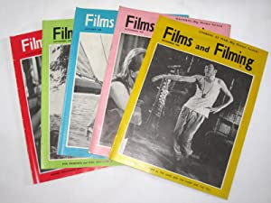 Films and Filming Magazine, Aug to Dec 1960. Run of 5 issues.