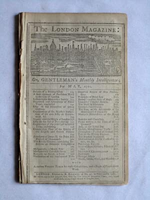 The London Magazine or Gentleman's Monthly Intelligence, May 1771, inc Essay on Deciphering, ...
