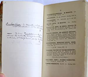 Catalogue of Modern Languages of India. 1887 Lists of New & Secondhand Books, 6 of Trubner&#x27...
