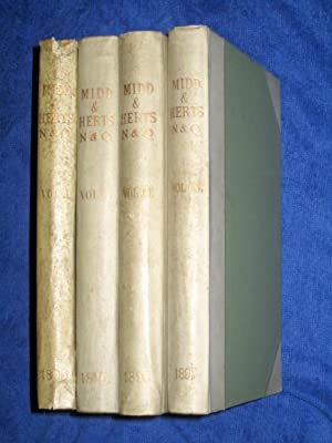 Middlesex and Hertfordshire Notes and Queries, Vol III.